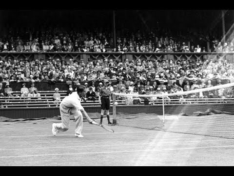 Fred Perry wins Wimbledon in 1936, 77 years before Andy Murray