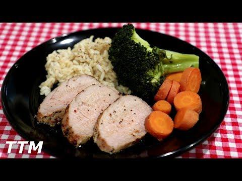 Pork Tenderloin Cooked In The Oven~Easy Cooking
