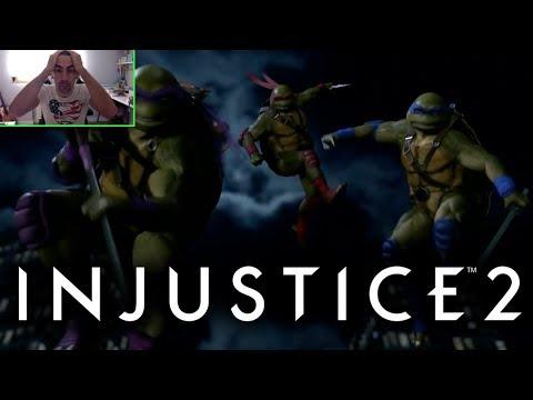 Injustice 2: REACCION FIGHTER PACK 3. NO PUEDE SER..