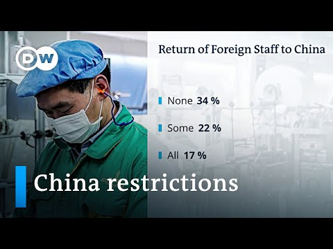 China bars foreign executives from returning to their companies | DW News