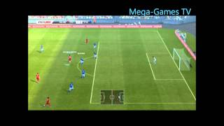 Pes 2013 Démo PC Gameplay Portugal - Italie ( Defthunder - Mega-Games-Le-Blog.com )