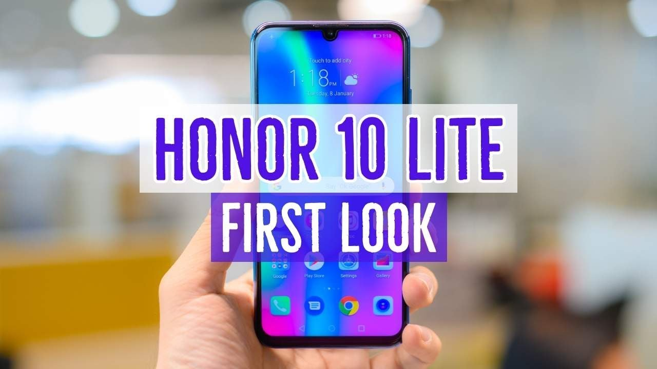 Honor 20i and Honor 10 Lite get EMUI 9 1 update | BGR India