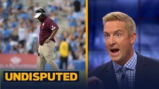 Kevin Sumlin on his way out from TAMU after disastrous game against UCLA? | UNDISPUTED