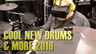 Cool New Drums & More - 2019