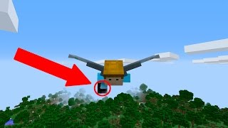 BEST FLY HACK EVER!! (MINECRAFT 1.11 ELYTRA!!)