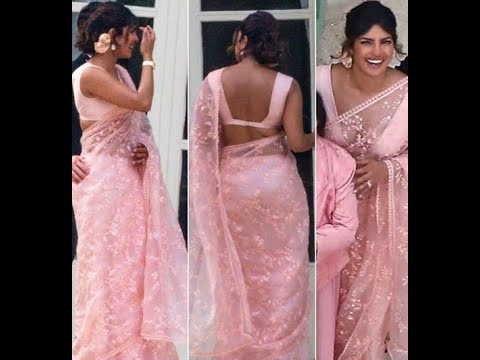 Priyanka Chopra stuns in pink saree at Joe Jonas, Sophie Turner wedding Mp3
