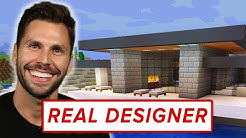 A Real Architect Builds A Mansion In Minecraft • Pro Play