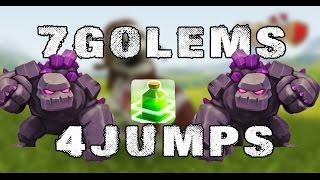 7 GOLEMS 4 JUMPS Легкие 2 звезды с тх10