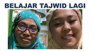 Selfi yamma Lida Kembali Belajar  Tajwid Dengan Guru ngajinya