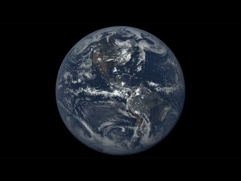 DSCOVR EPIC observing Earth