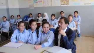 زيارة منظمة التعاون الإسلامي لمدرسة شانيه  في لبنان