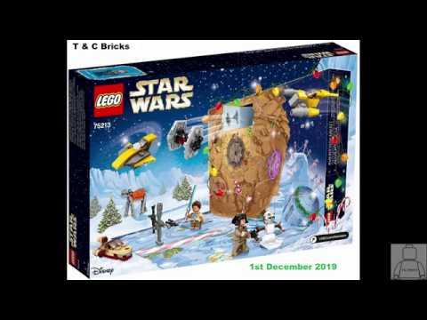December 2019 Calendar Lego Lego Star Wars Advent Calendar 2018 Day 1   YouTube