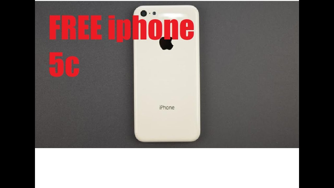 FREE Iphone 5C Giveaway - YouTube