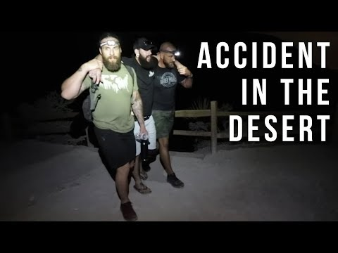 MY BACHELOR PARTY MOVIE; ACCIDENT IN THE DESERT