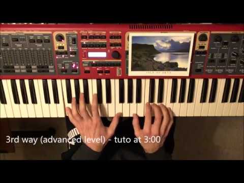 3 Ways To Play The Water Is Wide Traditional Piano And Song