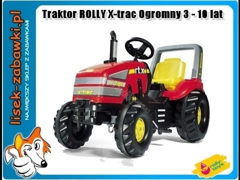 traktor rolly toys x trac 3 10 jahre spielzeug f r kinder spielzeugauto youtube. Black Bedroom Furniture Sets. Home Design Ideas