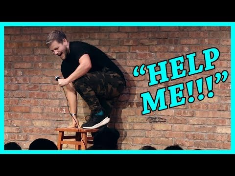 Spider Attacks Comedian On Stage