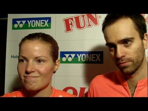 Fischer and Pedersen happy for second title at Yonex Copenhagen Masters