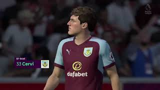 Southampton vs Burnley - Premier League (Season Two)