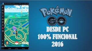 POKEMON GO desde PC con KO PLAYER 100% funcional setiembre 2016