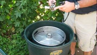 How to tap a keg of beer