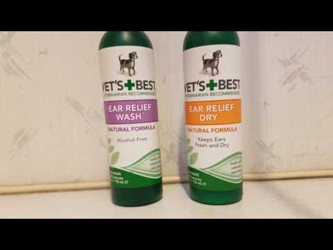 Vet's Best Ear Wash and Dry