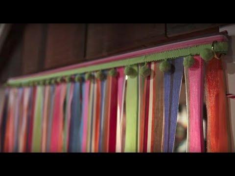 Maria Makes Door Curtains!