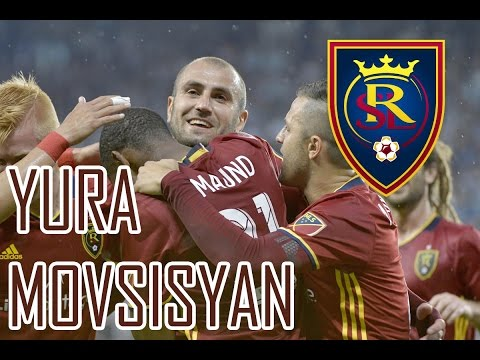 Yura Movsisyan ● Goals in Real Salt Lake ● MLS