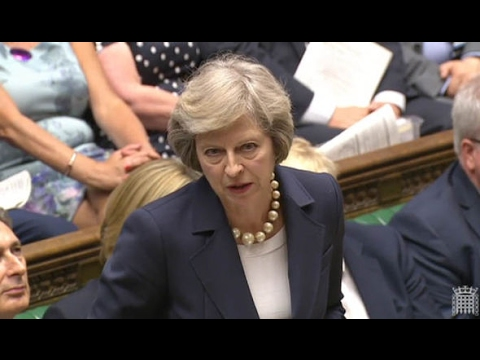 Theresa May asks Liberal Democrat's Tim Farron Do You Trust The People?