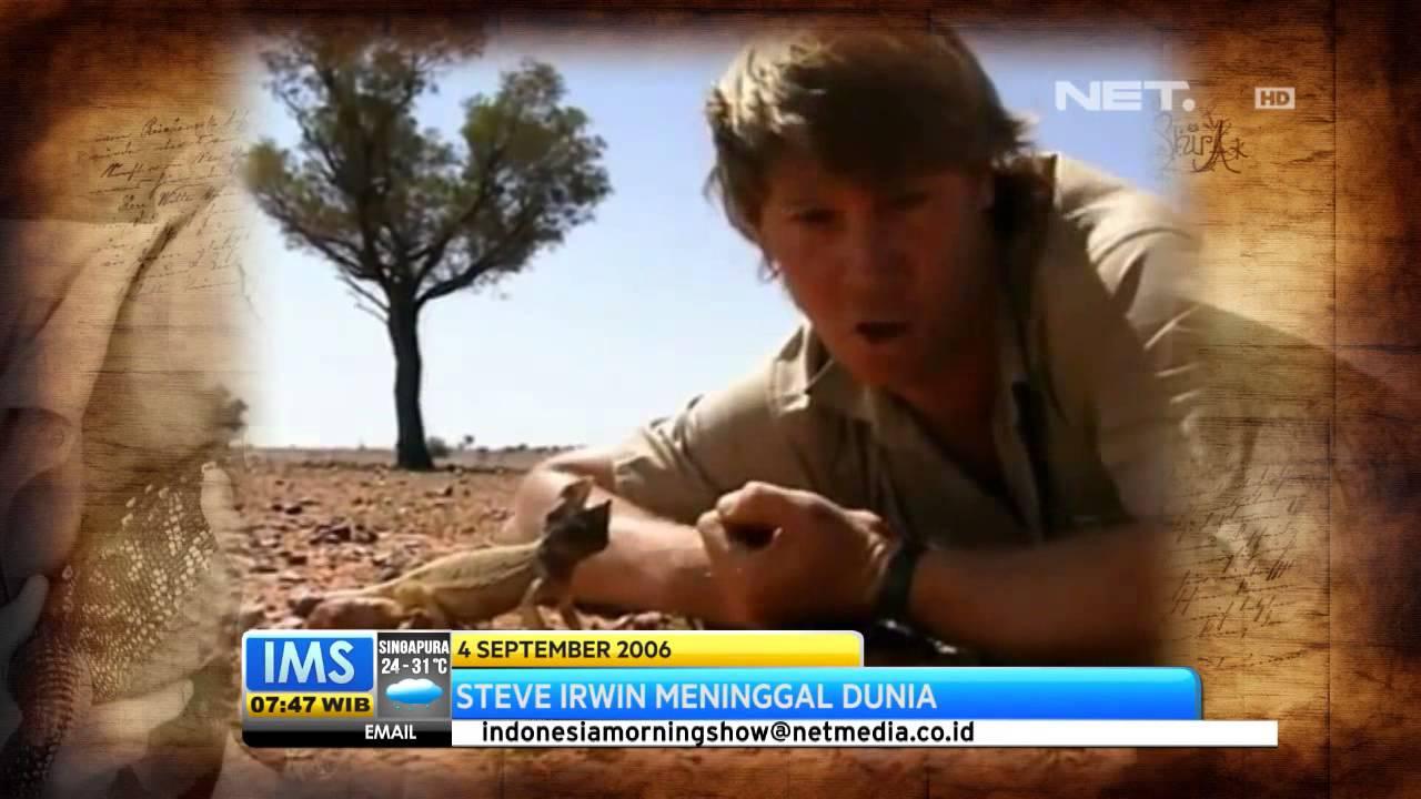 Ims Steve Irwin Meninggal Dunia Youtube