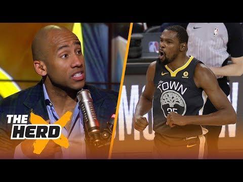 Dahntay Jones on what went wrong for Warriors Gm4, Keys for LeBron's Cavs vs Boston | NBA | THE HERD