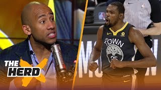 Dahntay Jones on what went wrong for Warriors Gm4, Keys for LeBron