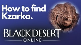 Black Desert Online Kzarka Weapon