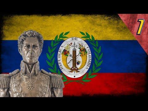 "Heart of Iron 4 - Millennium Dawn: Gran Colombia #1 ""El Espiritu de Simon Bolivar"""
