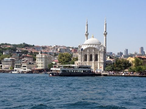 Istanbul Bosphorus Boat Tour - Turkey - Cruzeiro no Bósforo