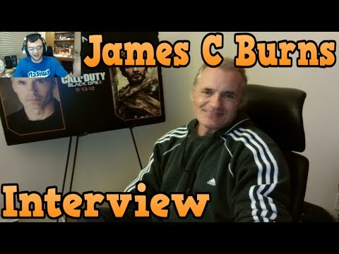 """Call of Duty"" Interview With Sergeant Frank Woods (James C Burns)"