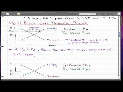 Macroeconomics - 76: World Prices and Domestic Prices