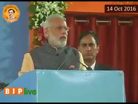 Narendra Modi on BJP live