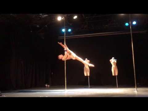 Danny Golding Mr Pole Dance 2017 Tech Run