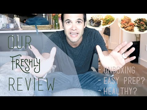 FRESHLY REVIEW!! HEALTHY - FAST - MEAL DELIVERY