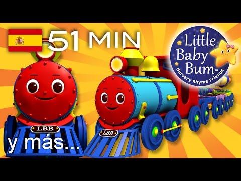 El tren de colores | Y muchas más canciones infantiles | ¡LittleBabyBum!