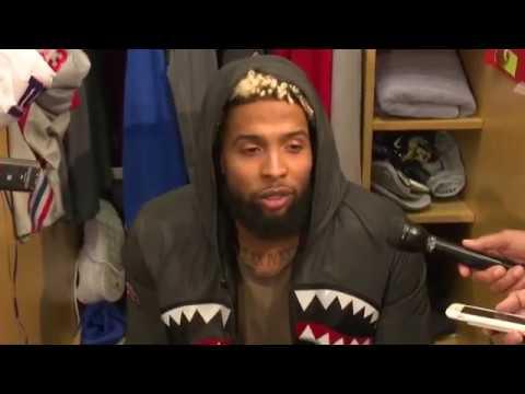Odell Beckham Jr. Interview | New York Giants