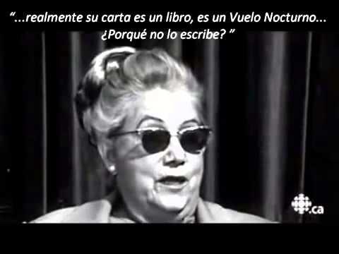 Entrevista a Madame Consuelo de Saint Exupéry