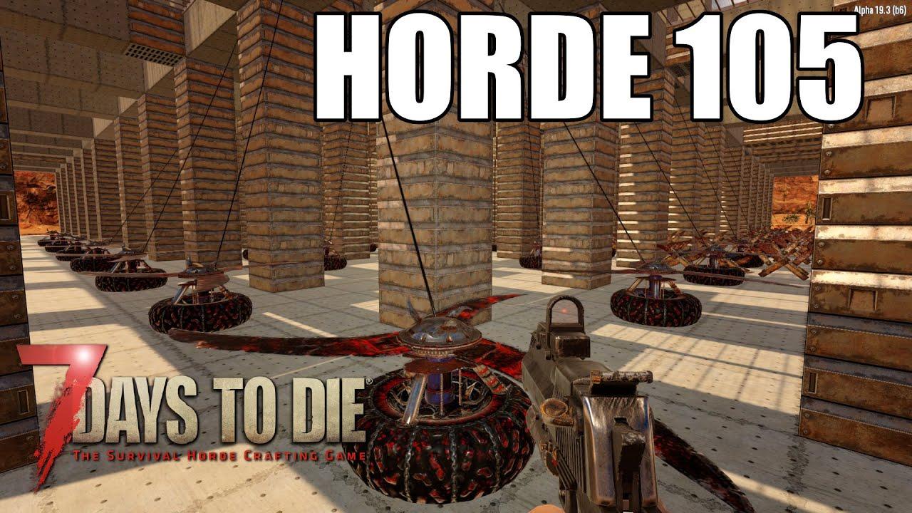 Download Horde 105 | 7 Days To Die Alpha 19 | BD1 | Ep 82