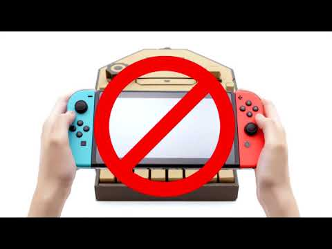 My Problem With Nintendo Labo - We Are Getting Cardboard Gimmicks Before Basic Online Features