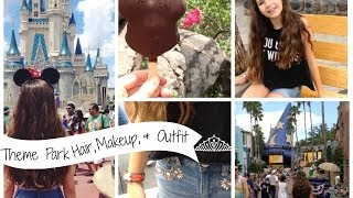 Theme Park Hair, Makeup & Outfit Thumbnail