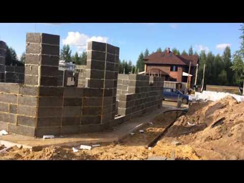 2 Строительство 4х домов с Туле из Теколита (стены)
