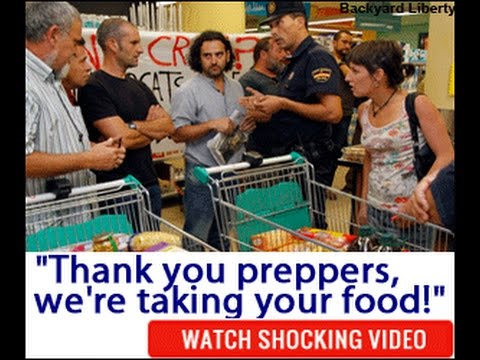 *NEW! Thank you Preppers, we are taking your food!! : Backyard Liberty Review
