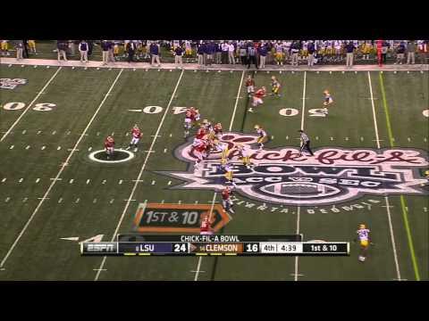Clemson Winning Drive Aganist LSU!!! (HD)