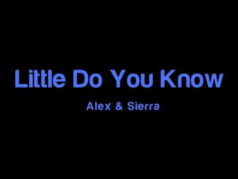 You little know free and sierra download do alex mp3